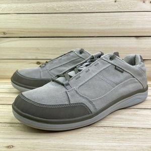 SIMMS Mens Westshore River Rock Shoe Beige Lace Up Sneaker 13 EUC